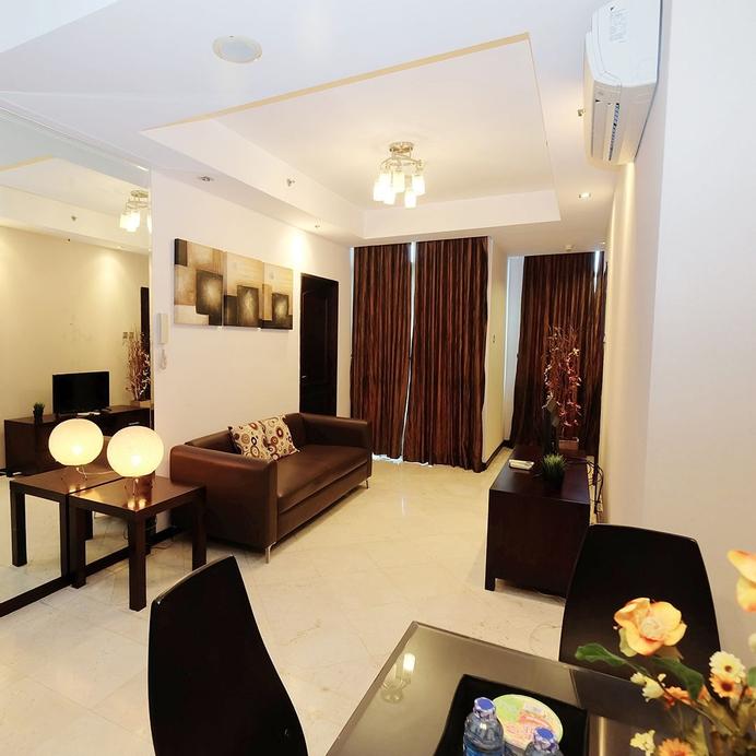 Spacious 2BR Tower Green Apartment Signature Park Grande, South Jakarta