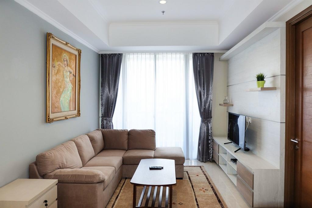 2BR Condo Apartment with Maid Room at Taman Anggrek Residences, Jakarta Barat