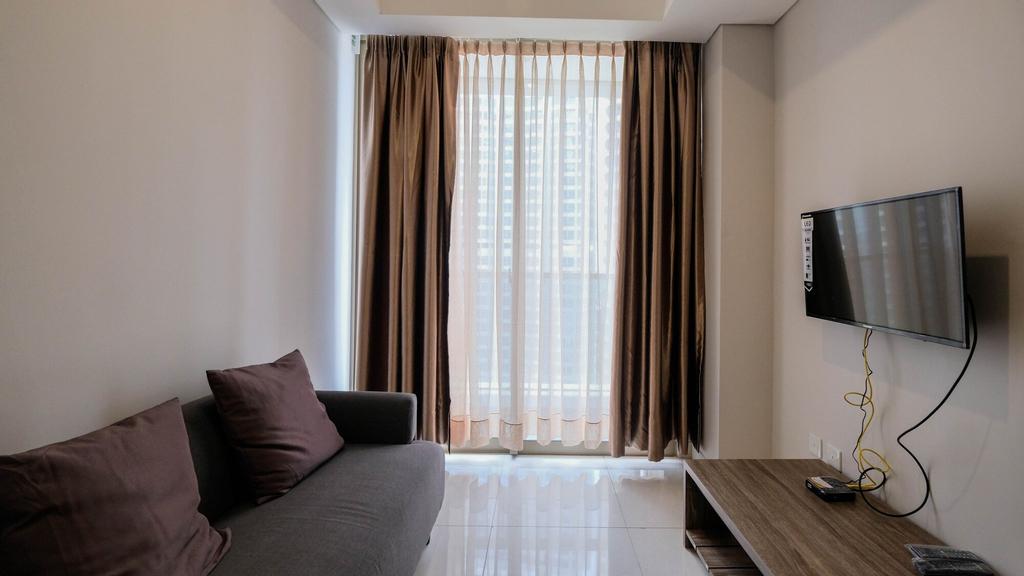 Cozy 1BR Apartment at Taman Anggrek Residence, Jakarta Barat