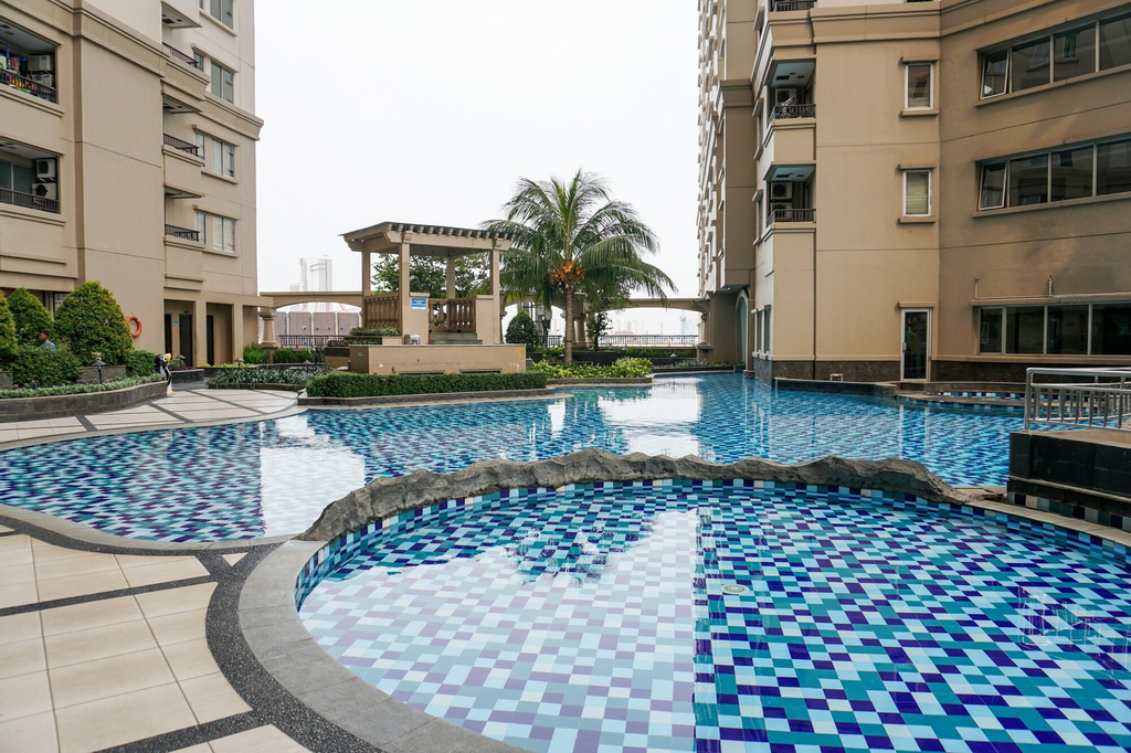 Minimalist 2BR Mediterania Marina Residences, North Jakarta