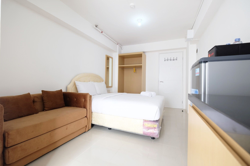 Affordable Studio with Sofa Bed at Bassura City Apartment, East Jakarta