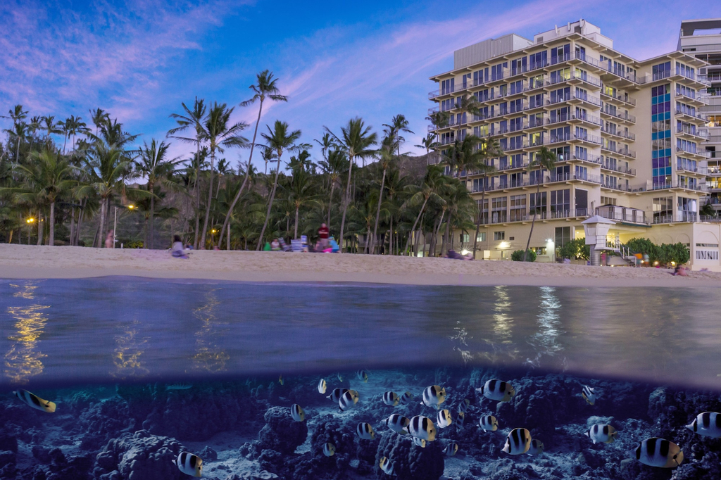 New Otani Kaimana Beach Hotel, Honolulu