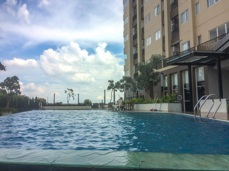 1BR with Extra Balcony The Oasis Cikarang Apartment, Cikarang