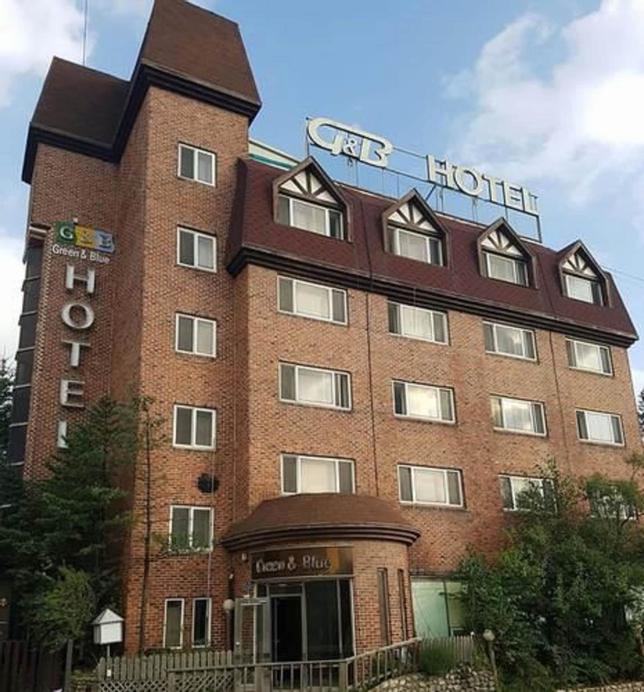 Green and Blue Hotel, Pyeongchang