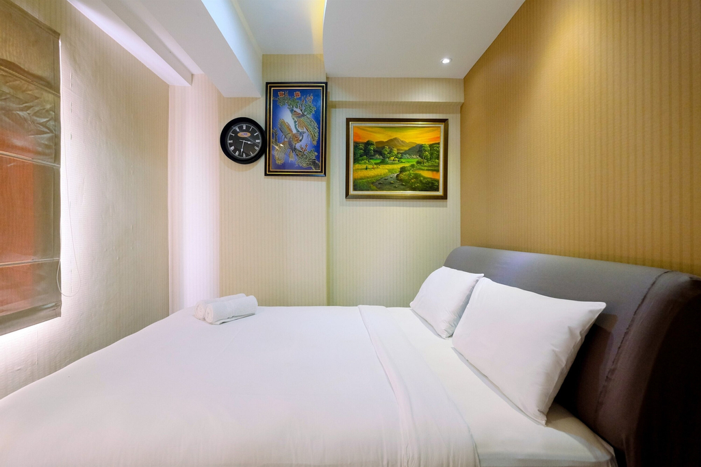 Homey 2BR at Green Bay Pluit Apartment near Mall, North Jakarta