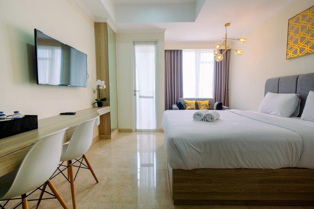 Simply Modern Studio Menteng Park Apartment By Travelio, Jakarta Pusat