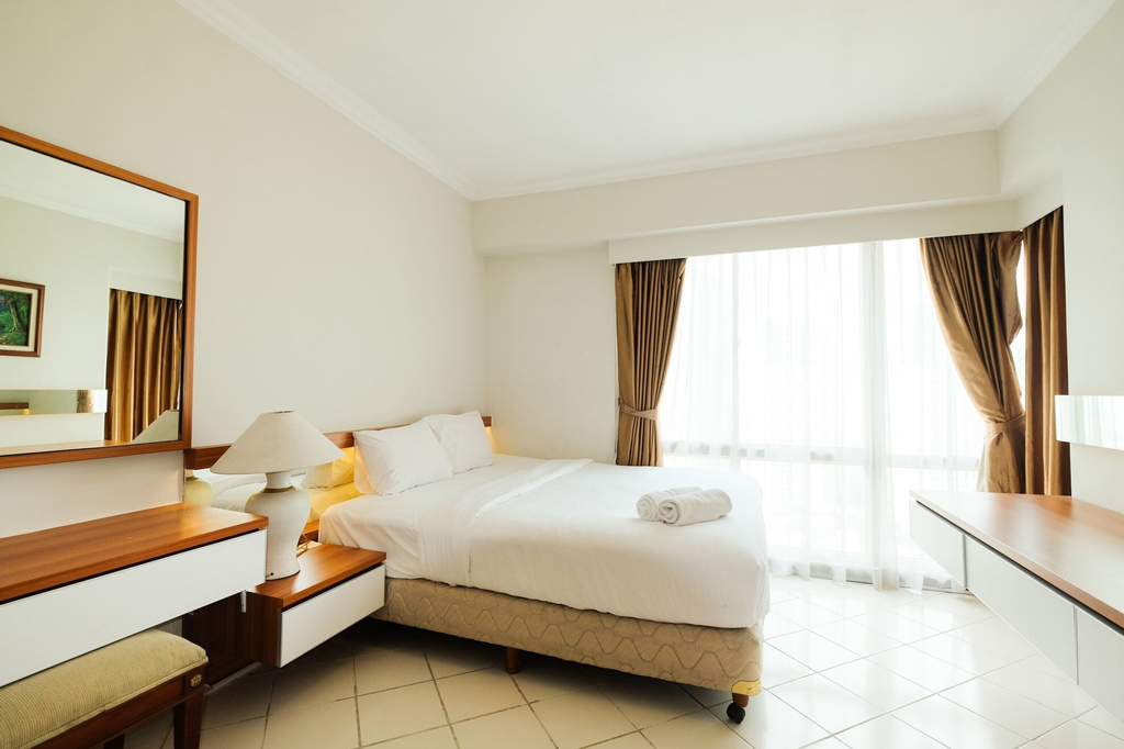 Clean and Tidy 2BR at Puri Casablanca Apartment, South Jakarta