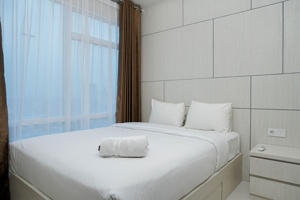 City View 1BR at Puri Mansion Apartment, Jakarta Barat