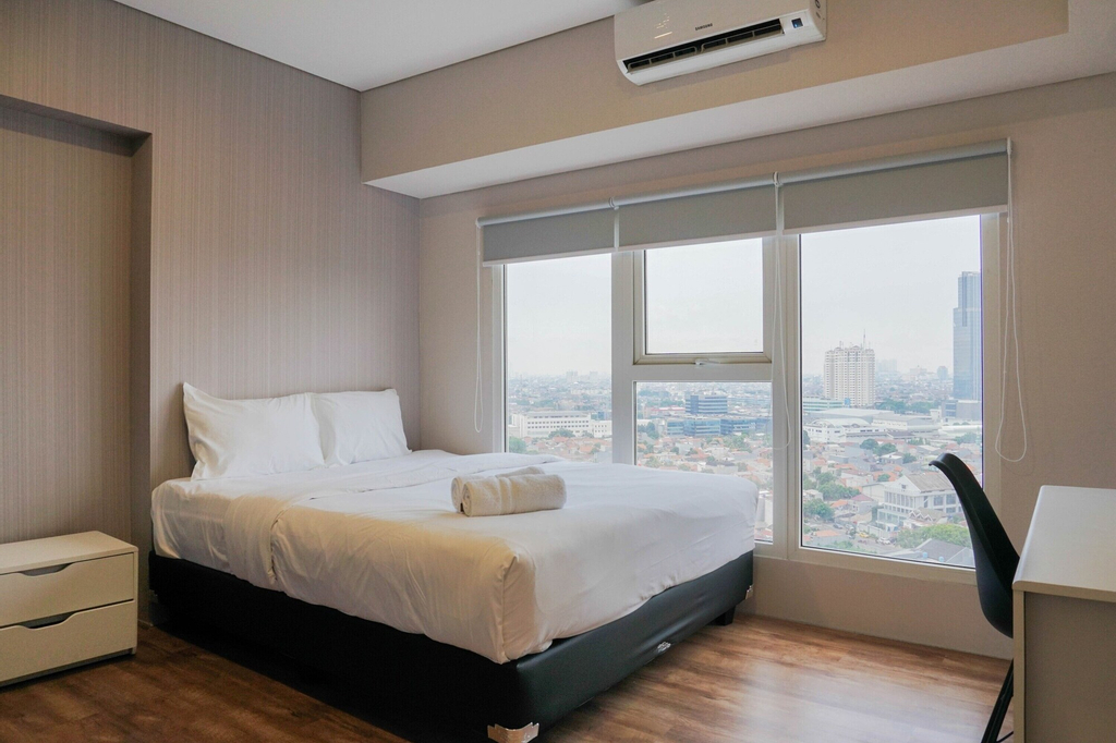 Big and Cozy 3BR Apartment at Maqna Residence, Jakarta Barat