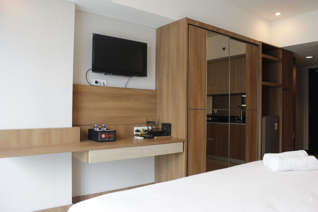 Trendy & Comfy Studio at Tamansari La Grande Apartment, Bandung