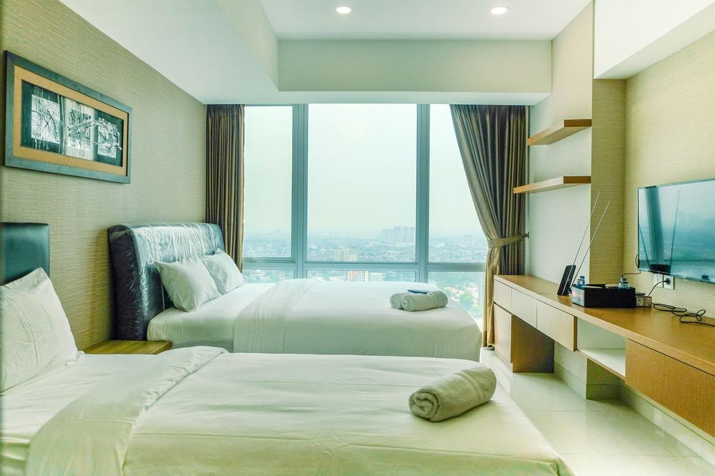 Cozy U Residence Studio Apartment near UPH Karawaci, Tangerang