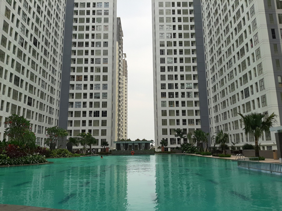 New Furnished Studio Apartment at M-Town Residence By Travelio, Tangerang