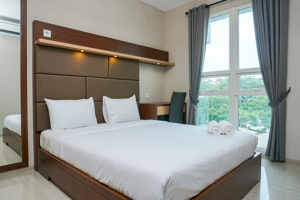 Elegant and Beautiful 2BR at Citra LakeSuites Apartment, Jakarta Barat