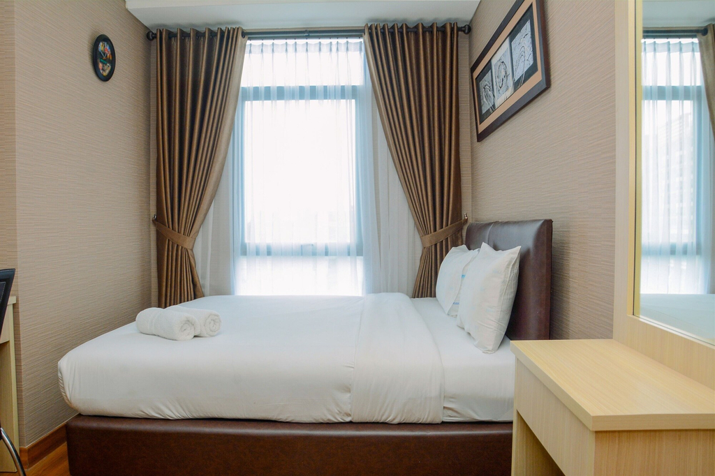 Deluxe 2BR Apartment at Pejaten Park Residence, South Jakarta