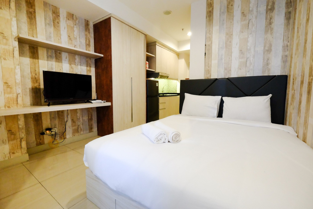 Modern Studio Room @ Grand Kamala Lagoon Apartment, Bekasi