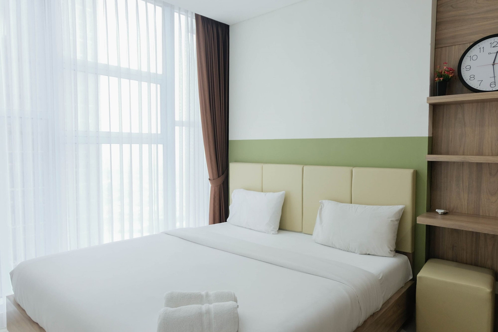 Modern Look 1BR at Brooklyn Alam Sutera Apartment, Tangerang Selatan