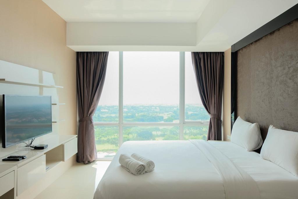 Spacious Fully Furnished Studio Apartment at U Residence, Tangerang