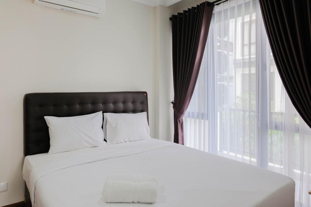 Pool View 3BR Apartment at Asatti BSD City, Tangerang