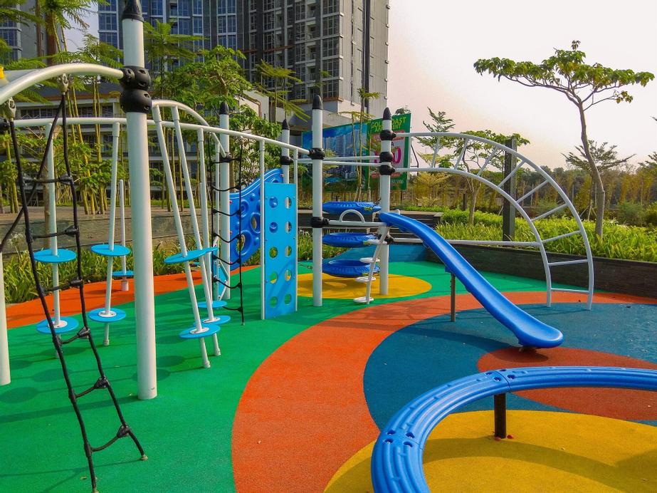 New Furnished Studio Sea View @ Gold Coast Apartment, North Jakarta