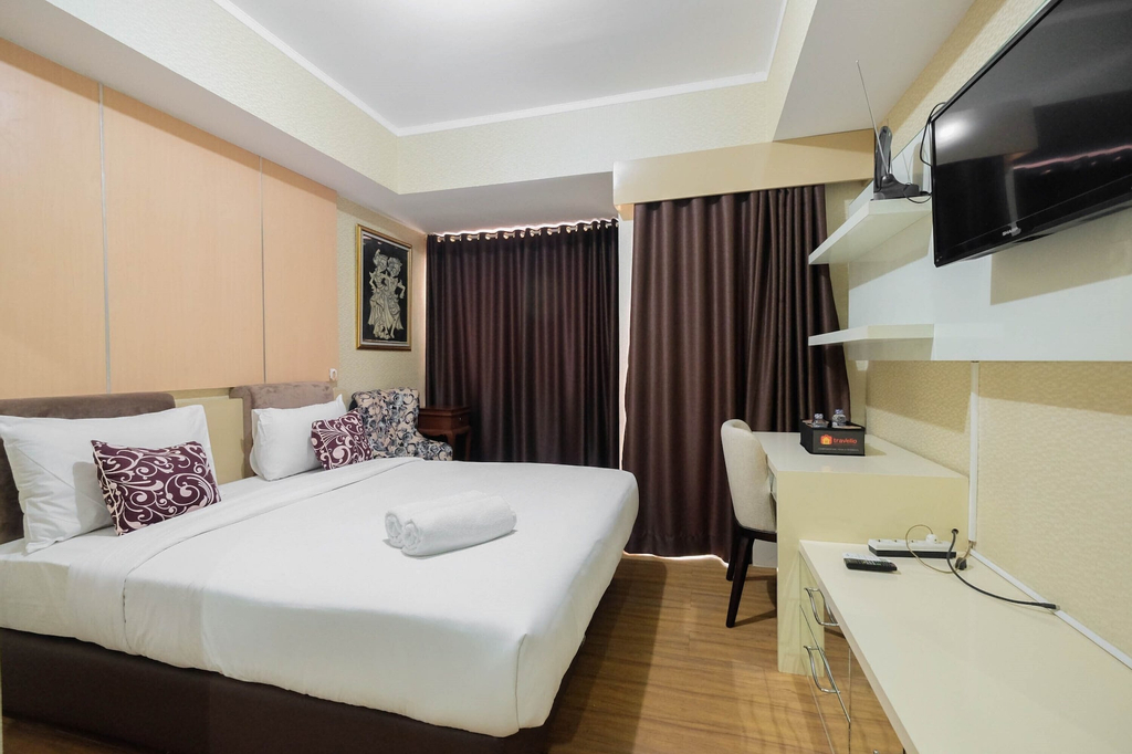 Modern Style Studio Apartment at The Oasis Cikarang, Cikarang