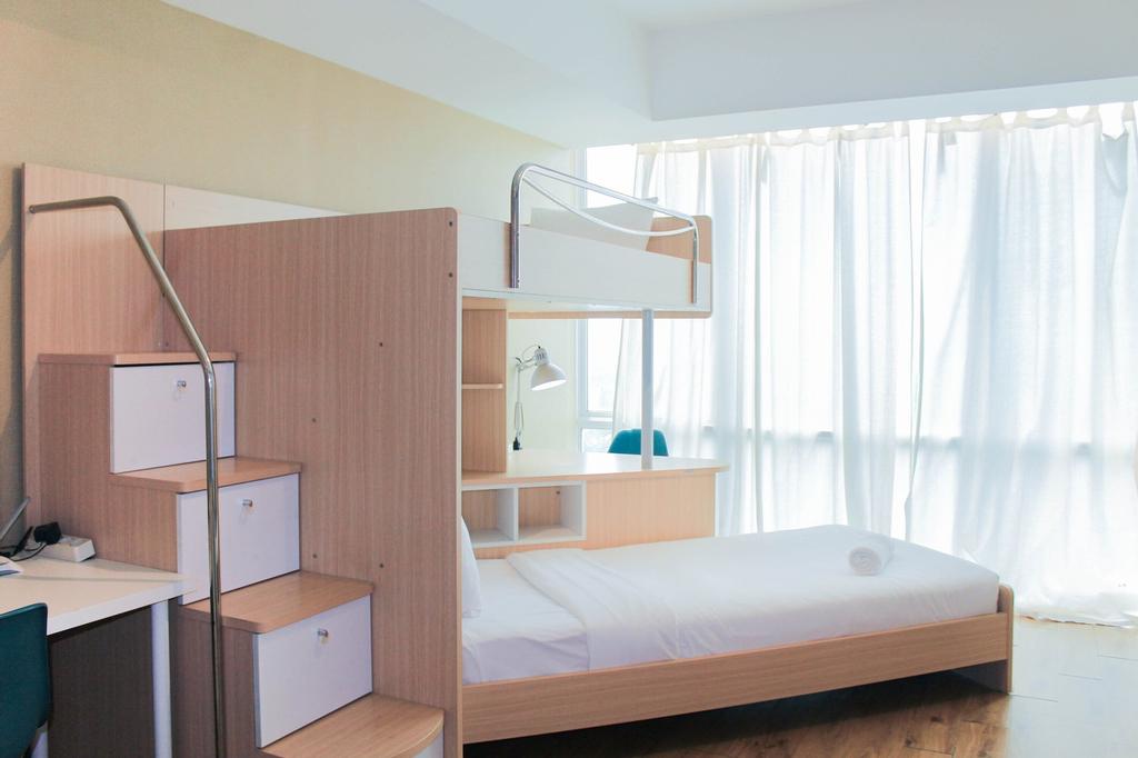 Studio Apartment with Bunk Bed at U Residence, Tangerang