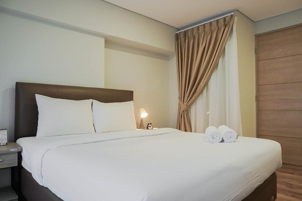 Modern 2BR Apartment at Maqna Residence, Jakarta Barat