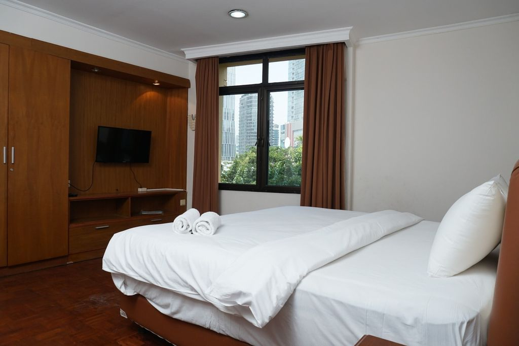 Modern and Spacious 2BR at Kusuma Chandra Apartment, South Jakarta