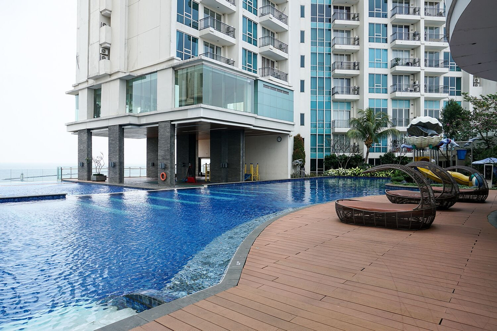 Comfortable and Homey 1BR Apartment at Ancol Mansion, Jakarta Utara