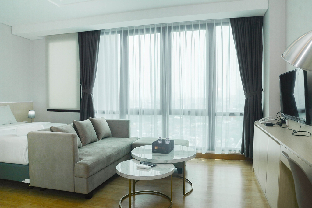 Comfortable Studio Room at Capitol Suites Apartment, Jakarta Pusat