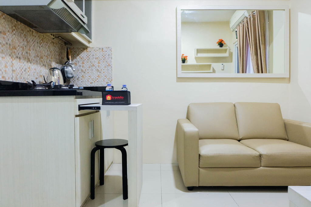 Modern and Comfy 2BR Green Pramuka Apartment, Jakarta Pusat