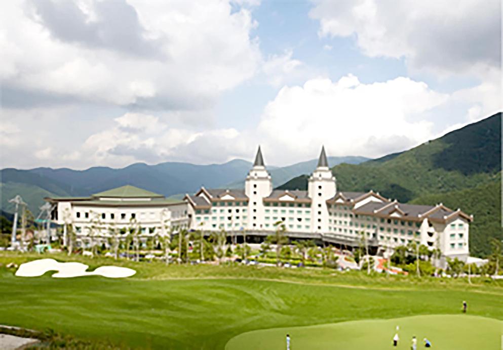 High1 Palace Hotel & CC (High1 Hotel), Jeongseon