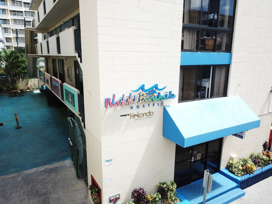 Waikiki Beachside Hostel, Honolulu