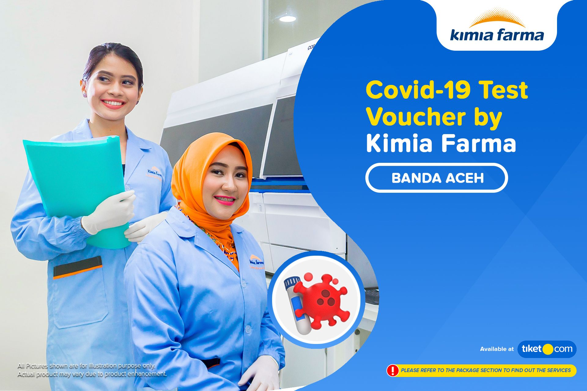 Rapid Swab Test Di Kimia Farma Banda Aceh Tiket Com