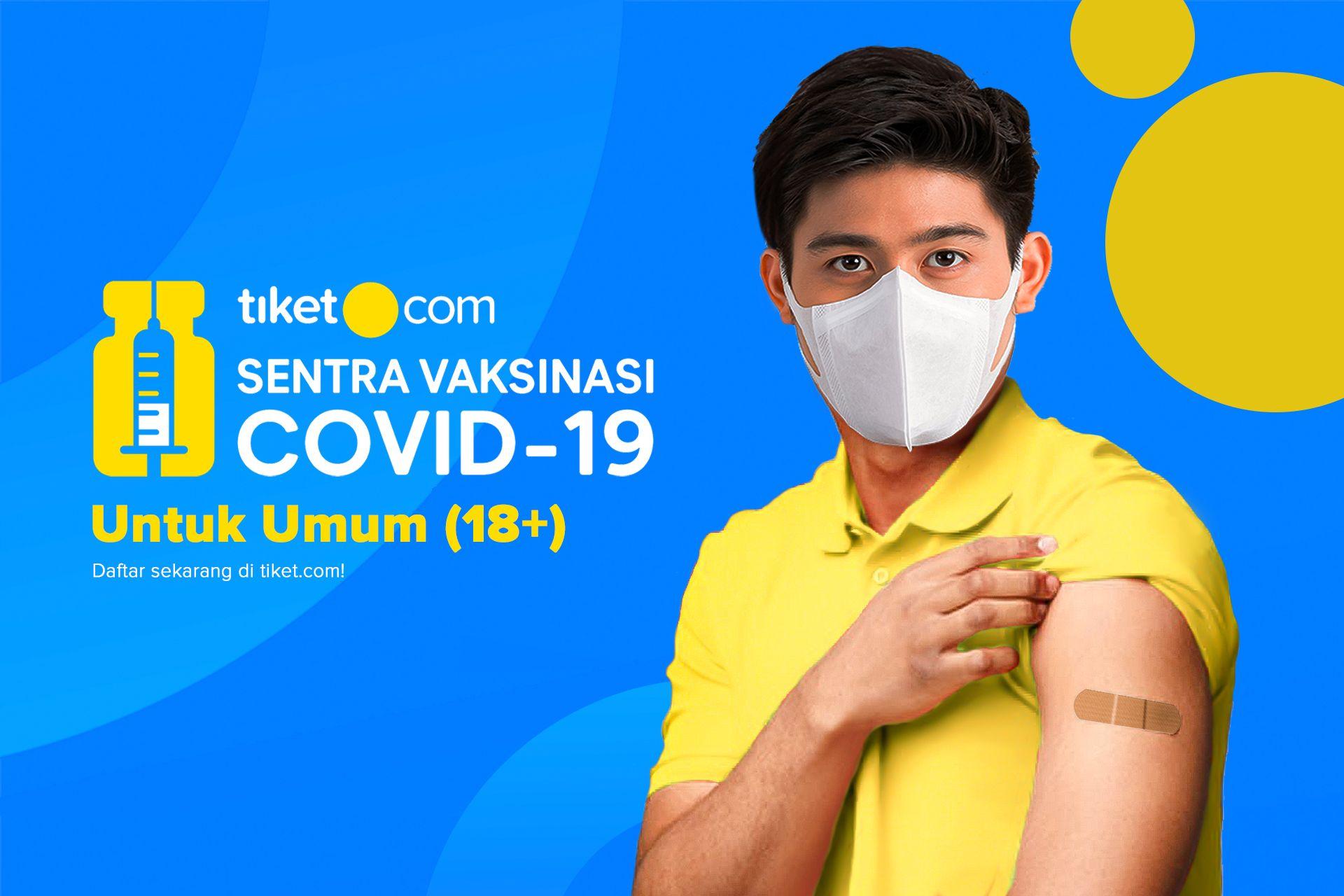 Vaksin Covid-19 untuk Umum (18+)
