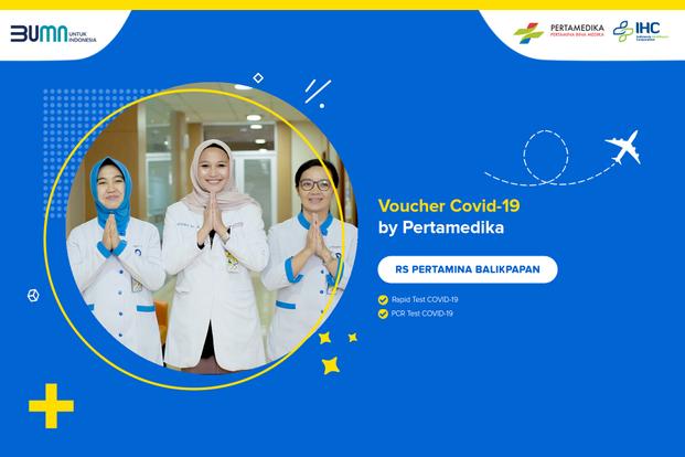 COVID-19 Rapid / PCR / Swab Test by Pertamedika - RS Pertamina Balikpapan