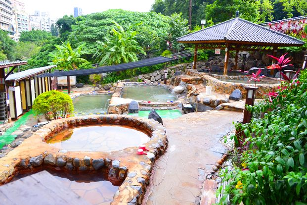 Hot Spring Experience at Beitou Asia Pacific Hotel