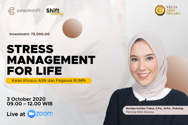 Webinar Stress Management for Life