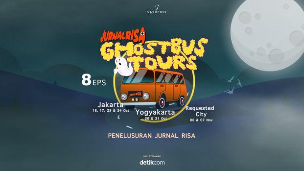 GhostBusTour Jurnal Risa Live Penelusuran 8 EPS