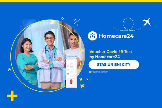 COVID-19 Rapid Test Stasiun BNI City by Homecare24