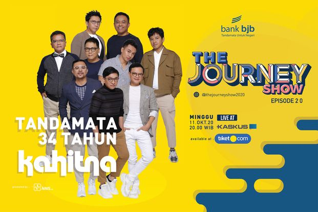 The Journey Show Eps 2.0 Tandamata 34 Tahun Kahitna-bg