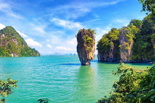 James Bond and Phang Nga Bay Day Tour with Kayaking Experience by Speed Boat