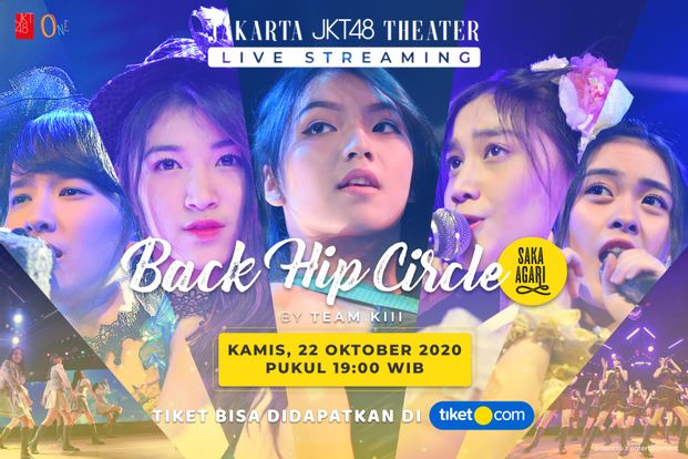 Saka Agari (Back Hip Circle) oleh JKT48 Team KIII - 22 Oktober-bg