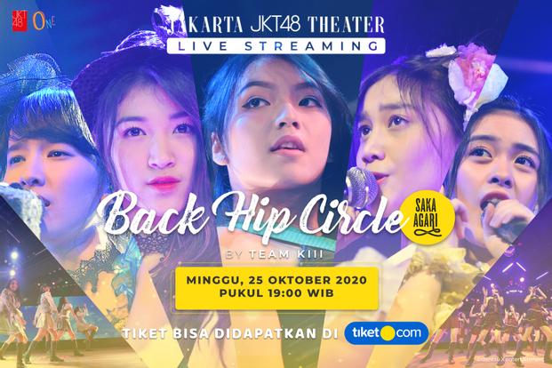 Saka Agari (Back Hip Circle) oleh JKT48 Team KIII - 25 Oktober