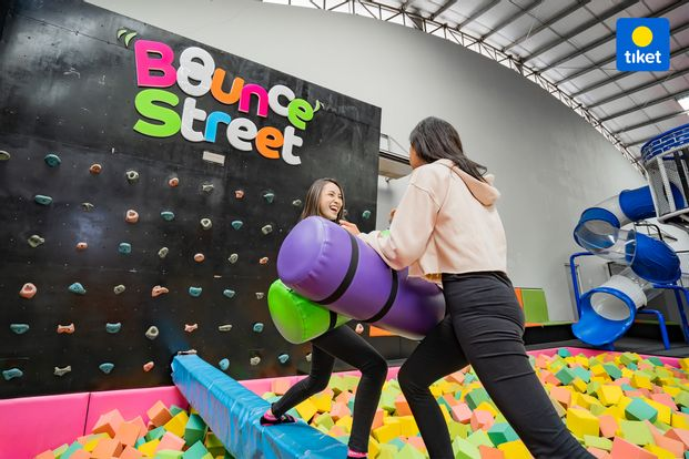 Bounce Street Asia Trampoline Park - Instant Pass