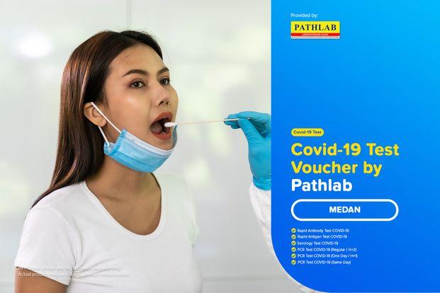 COVID-19 Rapid / PCR / Swab Antigen Test By Pathlab - Medan
