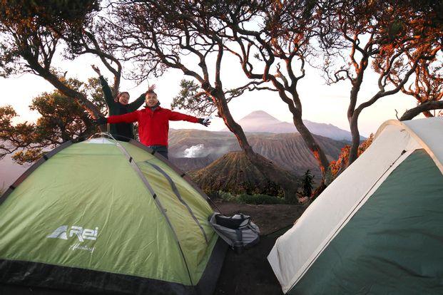 Tur Berkemah di Gunung Bromo - Tur 2 Hari Dari Malang