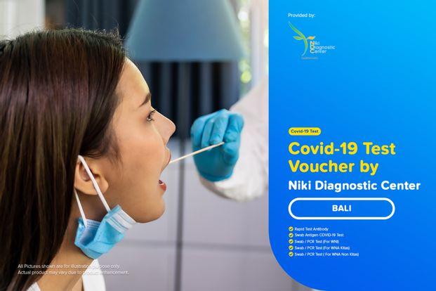 COVID-19 Rapid / PCR / Swab Antigen Test by Niki Diagnostic Center