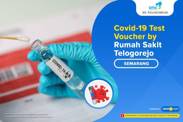 COVID-19 Rapid / PCR / Swab Antigen Test by Rumah Sakit Telogorejo