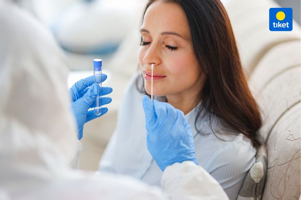 COVID-19 PCR / Swab Antigen Test Adikaras x Galaxy Lab Mega Bekasi Hypermall