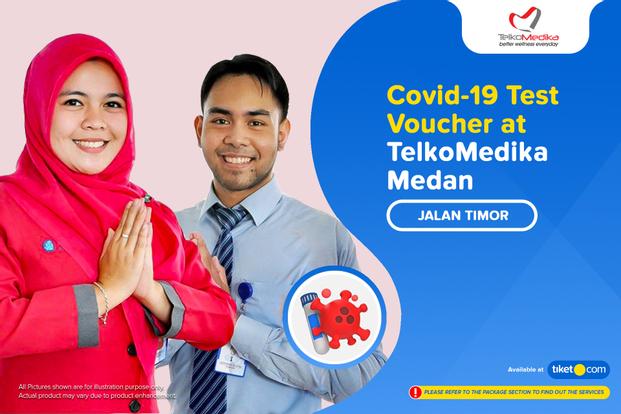 COVID-19 Rapid / Swab Antigen Test by Telkomedika Medan